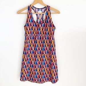 Spunk Wear Printed Racerback Swim Athletic Dress